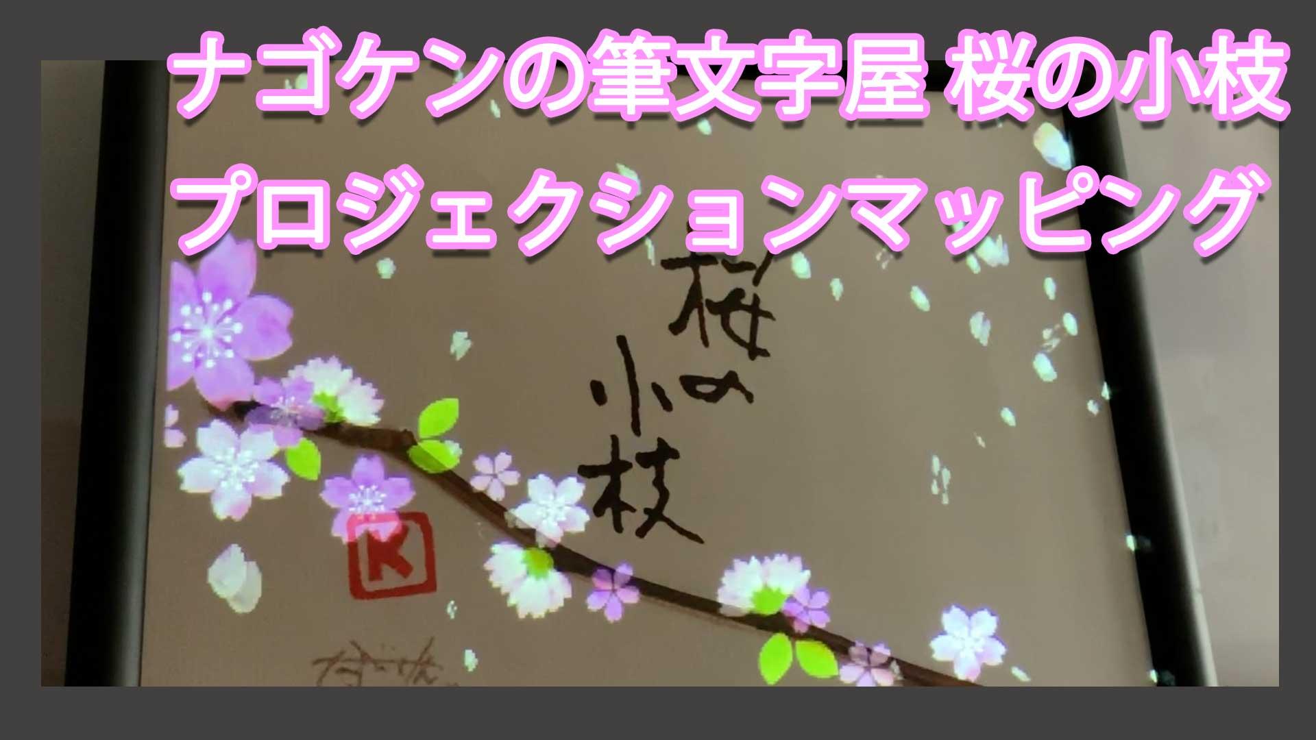 プロジェクションマッピング 桜